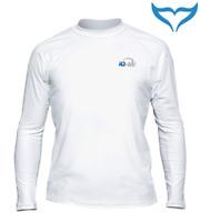 iQ UV 300 Shirt Loose Fit Men Longsleeve Herren S - 3XL white weiß Langarm NEU