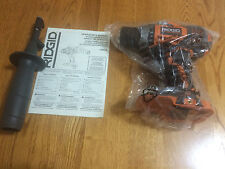 "BRAND NEW R86008 RIDGID 18v VOLT LITHIUM-ION COMPACT 1/2"" CORDLESS DRILL DRIVER"