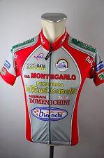 Natali Monte carlo bike cycling jersey maillot Rad Trikot Gr II 47cm K-07