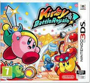 Kirby Battle Royale - Nintendo 3DS Game. Case, 2 inserts & cartridge.  VGC