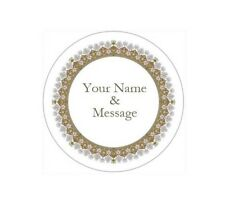 "2"" PERSONALIZED CUSTOM STICKERS LABELS BABY SHOWER WEDDING GRADUATION #6P"