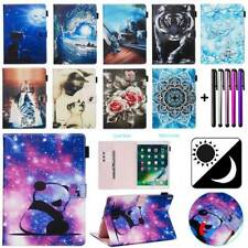 """For iPad 7.9"""" 9.7"""" 10.2"""" 10.5"""" Smart Magnetic Patterns Leather Stand Case Cover"""