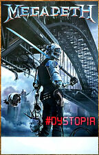 MEGADETH Dystopia Ltd Ed Discontinued RARE New Poster +FREE Metal Rock Poster!