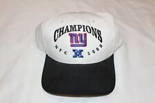 New York Giants NFL NFC 2000 Champions Hat Cap Vintage Snapback