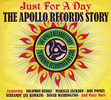 JUST FOR A DAY -THE APOLLO RECORDS STORY-75 ORIGINAL RECORDINGS (NEW SEALED 3CD)