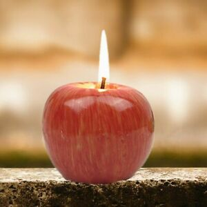 Scented Candles Apple Candle Home Decor Birthday Wedding Party Fruit Decoration