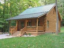 How to Build Log Cabins 37 Guides on CD-ROM Country Homes Off the Grid Living