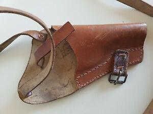 Holster P38?/P08? Pistolentasche für Piloten WW2. WK2 Dachbodenfund