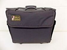 """Scrapbook Companion High-Quality Black Rolling Scrapbooking Tote 9x17x18"""" GREAT"""