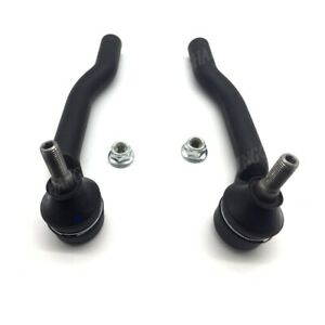 2 Front Right & Left Tie Rod End Outer For 2005-2014 Nissan TIIDA C11 Cube Versa