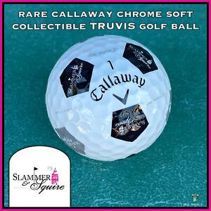 (1) RARE Callaway Chrome Soft TRUVIS Golf BALL - Slammer & Squire - Florida USA