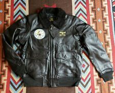 Buzz Rickson Military Type G-1 Flight Bomer Leather Jacket The Real McCoy's A-2