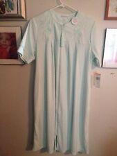 Womens Miss Elaine Size Small Zip Front Robe
