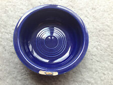 "Vintage Fiesta Cobalt Blue Glaze 4 3/4"" FRUIT BOWL 1938 to 1951"