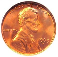 1969-D Lincoln Memorial Cent Penny 1C - Certified NGC MS67 RD - $550 Value!