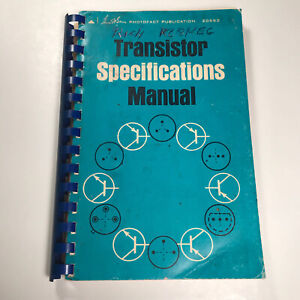 Transistor Specifications Manual Howard Sams Photofact Publication 20553