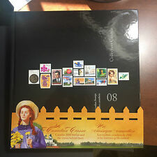 2008 CANADIAN ANNUAL SOUVENIR STAMP COLLECTION YEARBOOK