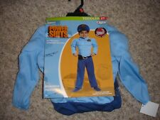 NEW Policeman Halloween Costume toddler boys 2T Police Officer