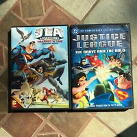 JLA Adventures Trapped in Time Justice League + The Brave & the Bold DVDs