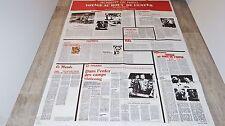 VOYAGE AU BOUT DE L'ENFER  ! de niro affiche cinema texte rare