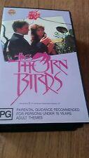 THE THORN BIRDS - RICHARD CHAMBERLAIN,  RACHEL WARD - 2 X VHS VIDEO'S