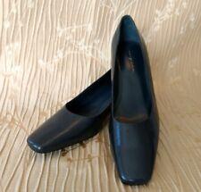 Easy Spirit Escaridad Medium Heel Shoes Pumps Square Toes Navy size 7.5 M