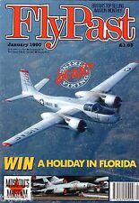 Flypast 1990 January Scandinavian Historic Flight,Spitfire