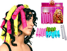 18x Rapid Changing Hair Styling Rollers Curler Magic Leverag Tool Accessories