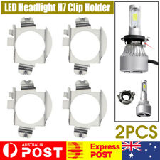 2Pcs LED Headlight H7 Clip Adapter Holder Retainer Low Beam For Ford Falcon FG