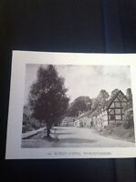 Ephemera 1949 Picture Elmley Castle Worcester f1k