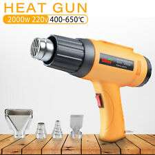 220V 2000W Electric Heat Gun Degree Temperature Hot Air Heating Tool