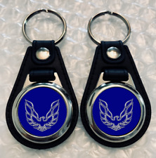 TRANS AM BLUE KEYCHAIN SET 2 PACK