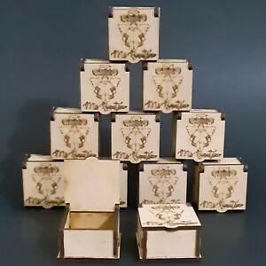 12 Mini Trinket Wood Box Angel Girl Baptism Favors Recuerdos Bautizo De Niña