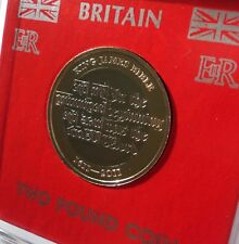 2011 King James Bible The Authorised Version £2 Coin (BU) Collector Gift in Case