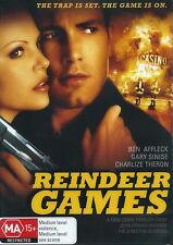 Reindeer Games - Action / Violence - Ben Affleck, Charlize Theron - NEW DVD