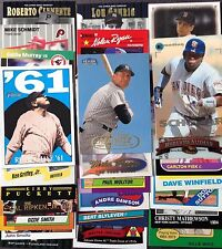 Xmas lot of 250 150 Hall of Fame w/ Griffey Piazza Mantle Ruth + 100 All Stars