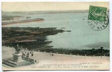 CPA - Carte Postale - France - Cherbourg - La Place et vue sur la Rade - 1919