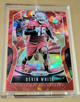 2019 Panini Prizm Devin White RC RED❗CRACKED ICE MINT #312