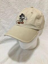 NWT Mickey Mouse Safari Disney Parks Disneyworld Animal Kingdom Beige Cap Hat