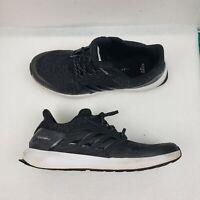 Adidas Rapidarun Lux J Black Cloudfoam Running Shoes Sneakers~Size 7 (S2)