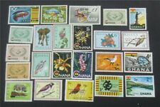 nystamps British Ghana Stamp # 192//226 Mint OG NH   S10x2540