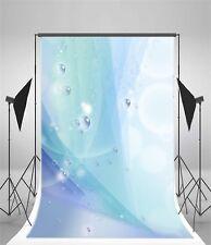 Fresh Water Drops 5x7ft Photography Background Vinyl Photo Studio Backdrop Props