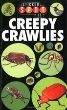 Creepy Crawlies (Sticker Spot it),Lucy Bater