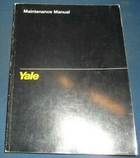 YALE NR 035/040/045 AD NDR 030  AD B815 NS040 B816 FORKLIFT SERVICE MANUAL