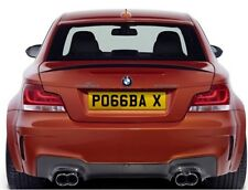 Premium Man Utd Number Plate - Paul Pogba (Wow Factor Included) New 66 Plate