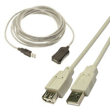 10M USB 2.0 Extension Active Repeater Cable Lead 10M