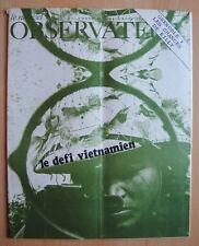 █ Le Nouvel Observateur n°169 Le Défi Vietnamien 1968 █