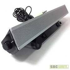 Genuine Dell Stereo Soundbar Speaker AS510 - GOOD CONDITION - SHIP SAME DAY