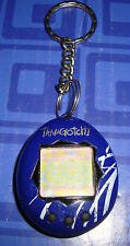 Mini Tamagotchi Connection Blue & Black Buttons Electronic Keychain