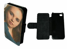 PERSONALISED CUSTOM PRINTED Phone Flip / Wallet Case Cover to fit iPhone 5C